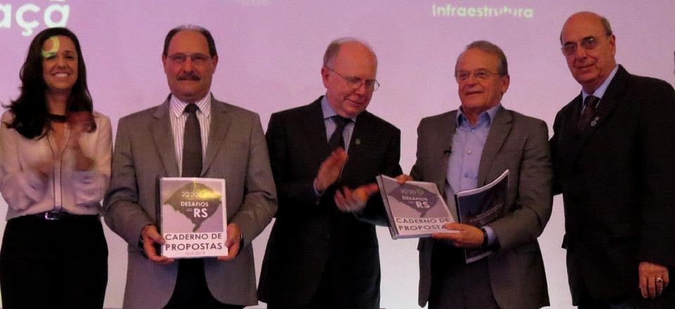 Agenda 2020 apresenta sua visão do Estado aos candidatos Tarso Genro e José Ivo Sartori