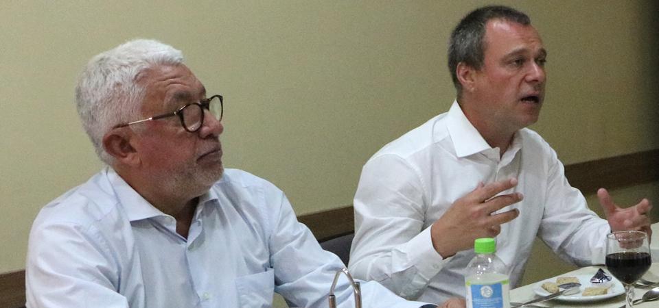 Secretário da Saúde de Porto Alegre visita FEHOSUL