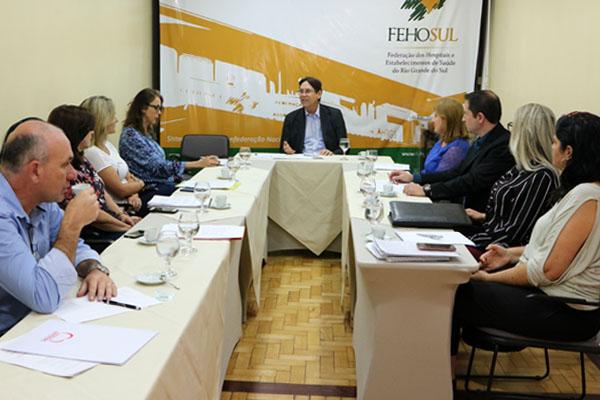 Grupo Técnico de modelos de remuneração realiza primeira reunião de 2018 na FEHOSUL