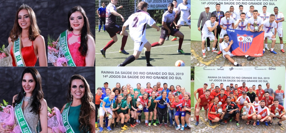 Hospital Militar de Porto Alegre conquista o bicampeonato geral do 14º Jogos e Rainha da Saúde